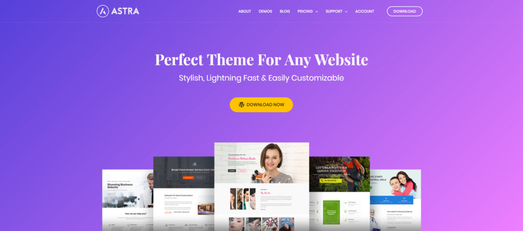 Best WordPress Theme - Astra